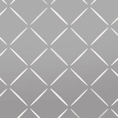 This Diamond lattice pattern wall stencil allows you to paint wallpaper effects on your walls. Stencilling is home decorating art, craft etc. See all our pattern stencils in our shop. Large Wall Stencil, Stencil Painting On Walls, Diy Painting, Wall Stencil Patterns, Stencil Designs, Painting Patterns, Diy Wand, Home Decoracion, Custom Stencils