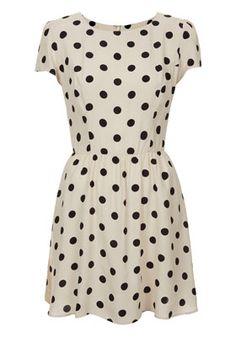 Pretty polka dot dress