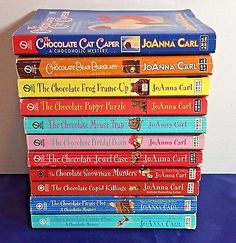Books 1 - 11 Chocoholic Mystery Joanna Carl Cozy Mystery Series Paperbacks
