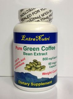 100% Pure Green Coffee Bean Extract 800 mg with GCA, Natural Weight Loss Supplement, One Month Supply, Recommended by Dr. Oz « Weight Loss AZTips Weight Loss AZTips