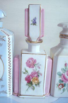 pretty vintage perfume bottles