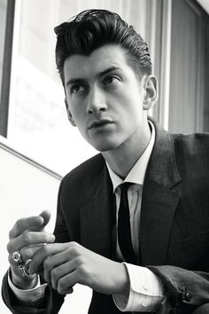 Alex Turner. What an amazingly talented man! Seeing Arctic Monkeys at Jimmy Kimmel Live was amazing!