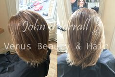 John's client came in with grown out and faded highlights and needed a boost ready for summer. John refreshed the look with a full headed silver treatment using Milkshake's Smoothie range. By using these products and this technique, John was able to lighten and enhance to produce a very natural effect.