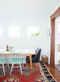 """After a year-long renovation, Diana been moved into this """"collected eclectic"""" style Ann Arbor house."""