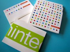 Candy Buttons Personalized Stationery from Minted.com, $36 for 15    Can't peel and eat these, but they sure do remind me of sugary buttons from an old time candy store. Aptly named, these bright, bold, and fun foldover personalized stationery cards feature multi-colored dots across the front of the cards. I orginally featured these on the TODAY show and have adored them ever since. They make sending a thank you that much sweeter.