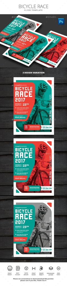 Bicycle Race - Sports #Events Download here: https://graphicriver.net/item/bicycle-race/20080576?ref=alena994
