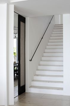 A simple staircase.