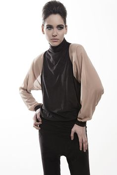 High neck blouse - Gaffer and Fluf