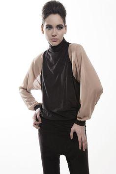 High neck blouse - Gaffer and Fluf