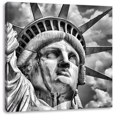 Majestic Statue of Liberty Art Print on Canvas East Urban Home Size: H x W statueoflibertydrawing Statue Of Liberty Drawing, Statue Of Liberty Tattoo, Liberty Statue, Stairs To Heaven Tattoo, Frames On Wall, Framed Wall Art, Painting Prints, Art Print, What Is A Shadow