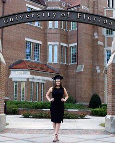 Grad Pics, Graduation Photos, Florida Gatora, University Of Florida, College, Dresses, Fashion, Vestidos, Moda