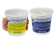 Free Form SCULPT/1  Epoxidharz Epoxy, Coconut Oil, Sculpting, Food, Resin, Play Dough, Model Building, Sculpture, Essen