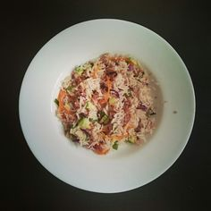 Making meals colorful.  Lunch ideas. Vegetable fried rice.