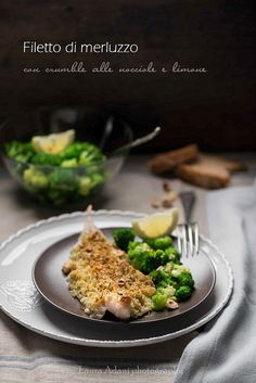 cod fillet with hazelnut crumble | Flickr - Photo Sharing! the recipe here:http://bit.ly/1t186Kn