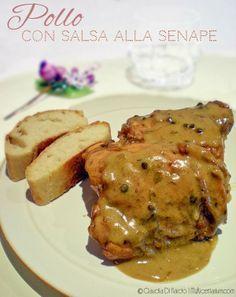 Sovracosce di pollo con salsa alla senape