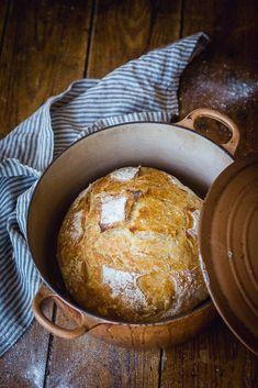 Bread Recipes, Baking Recipes, Yummy Recipes, Tasty, Yummy Food, Bread And Pastries, Cordon Bleu, Vegan Baking, How To Make Bread