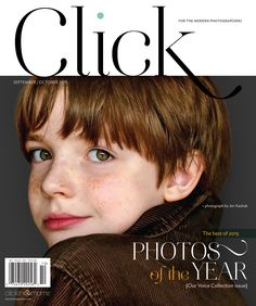 CLICK magazine's 17th issue features an in-depth package on exploring your creativity in the art and craft of post capture, profiles of gifted photographers Aimee McNamee and Alice Gao, a special look at how to create intimacy in your imagery by Dana Lauder and the gallery of the Best Photos of the Year — the