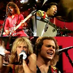 Van Halen on the German television show ROCKPOP in 1980! They performed two songs, You Really Got Me & The Cradle Will Rock