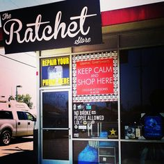 This is why I love California hoods. The ratchet store says no broke people allowed.. . LOL
