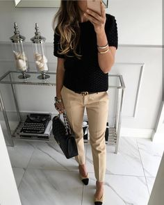 clothes for women,casual outfits,base layer clothing,casual outfits Business Casual Outfits, Classy Outfits, Chic Outfits, Pretty Outfits, Summer Outfits, Classy Clothes, Business Style, Fall Outfits, Office Fashion
