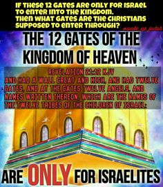 This is obviously false. The gates are symbolic of the 12 tribes. A proper exegesis is needed. Anyone who reads Galatians & Romans know salvation is for the Jew & Gentile. Anyone who believes is of Abraham.