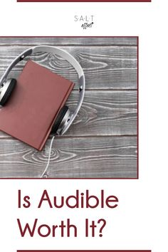 If you're not sure how Audible works or want to know if Audible is worth it, we can help you decide. Get answers to your questions from how to get free books on Audible to how much Audible costs per month. We also share 13 reasons why Audible is worth it! Working Mom Tips, 13 Reasons, Feeling Overwhelmed, Free Books, Audio Books, This Or That Questions, Life