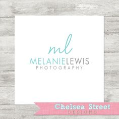 SALE  Premade logo and watermark design  by chelseastreetdesigns, $15.00