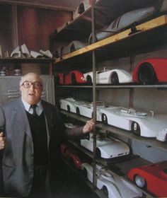 """AUTODELTA - finest Alfa Romeo car tuning: Carlo Chiti, the maestro behind Autodelta. A genius like Enzo Ferrari or Carlo Abarth! 1977 in Autodelta"""