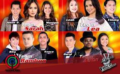The Voice of the Philippines Season 2 returns Saturday night, February 21, 2015. The remaining eight (8) artists, two from each team, will compete tonight and will represent their team for the grand finals next week!