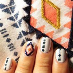 tribal nails (2)