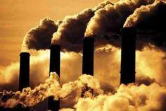 Gyárkémények, levegőszennyezés