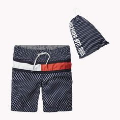 Tommy Hilfiger Printed Swim Shorts - black iris (Blue) - Tommy Hilfiger Swimwear - main image