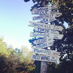 Plenty of places to explore from the Cannon Valley Trail in Minnesota. Where should we go next? Photo credit: @sambengs #OnlyinMN