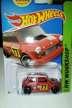 2014 HOT WHEELS MORRIS MINI   **194/250** new H case