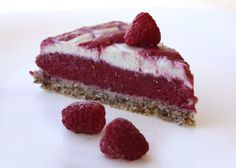 Raspberry cake without flour, sugar and baking - Recipe, Food And Drinks, Raspberry cake without flour, sugar and baking Mom& cakes. Desert Recipes, Raw Food Recipes, Sweet Recipes, Baking Recipes, Cookie Recipes, Snack Recipes, Snacks, Raw Cake, Homemade Sweets