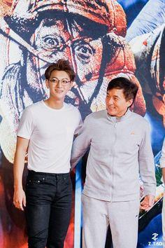Tao and Jackie Chan