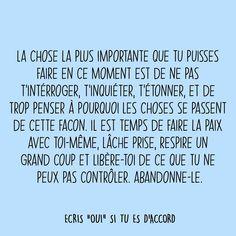 Plus Belle Citation, Positive Mind, Motivation, Mindfulness, Messages, Mood, Courage, Quotes, French Language