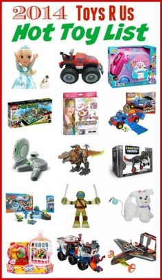 The 2014 Toys R Us Hot Toy List For Girls and Boys | The Jenny Evolution