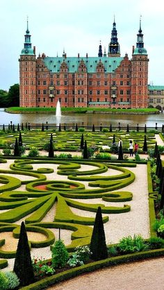 Dream Destinations in Denmark you need to visit, besides Copenhagen. Denmark has so many historic and beautiful places to go to. Copenhagen may be the main hub, but the rest of the country should be explored just as equally. Places Around The World, Oh The Places You'll Go, Cool Places To Visit, Places To Travel, Travel Destinations, Around The Worlds, Holiday Destinations, Beautiful Castles, Beautiful Buildings