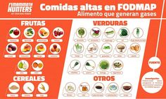 High FODMAP foods result in stomach problems such as flatulence, burps, pain, diarrhea and constipation. Learn about FODMAPs and a diet plan to avoid them. High Fodmap Foods, Fodmap Diet, Low Fodmap, Dieta Fodmap, Dieta Paleo, Why Gluten Free, Gastritis Diet, Honey Drink, Food Hunter