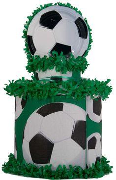 World of Pinatas - Soccer Sport Pinata, $27.99 (http://www.worldofpinatas.com/soccer-sport-pinata/)