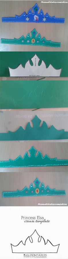 corona-foami-Ana-Elsa-Frozen-realizacion
