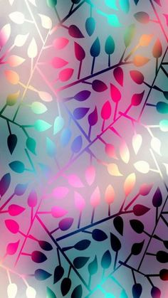 Multicolor Metallic Leaves