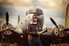 Pilot, Samolot, Mapa
