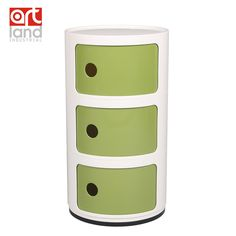 Plastic Round Cabinet, ABS material, bedside table, bathroom storage /free shipping door to door by EMS