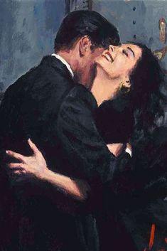 Romantic Encounters Paintings by Fabian Perez – Fubiz Media painting media Romantic Encounters Paintings by Fabian Perez Fabian Perez, Art And Illustration, Art Romantique, Art Sketches, Art Drawings, Drawing Drawing, Renaissance Kunst, Image Swag, Art Amour