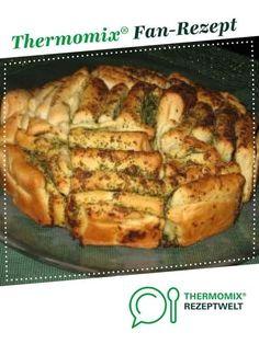 Knoblauch-Faltenbrot von Gaby1723. Ein Thermomix ® Rezept aus der Kategorie Backen herzhaft auf www.rezeptwelt.de, der Thermomix ® Community.