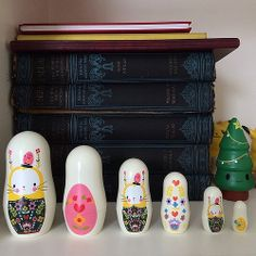 Got the last set of bunny nesting dolls in Paperchase. Image by Marceline Smith on flickr. All rights reserved.