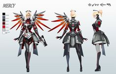 I've yet to be disappointed by mercy concepts for skins