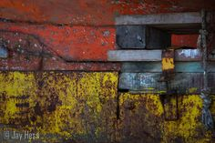 Coque rouillée (rusty hull by Jay Hess)